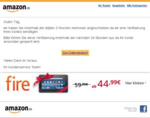 Amazon-Fake (Quelle: verbraucherzentrale.nrw)