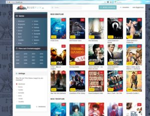 blueflix.de der Safe4Media Ltd (Screenshot)