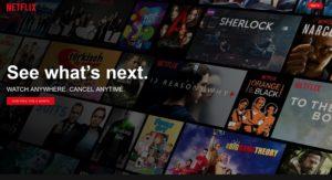Achtung, Netflix-Phishing (Screenshot Netflix.de)